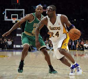 Lakers Boston