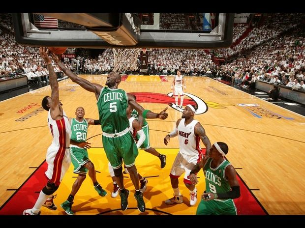 Paul Pierce le da la victoria a Boston sobre Miami en la NBA