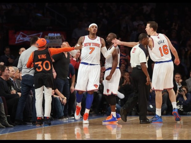Lakers decepcionan en el Madison Square Garden ante los Knicks.