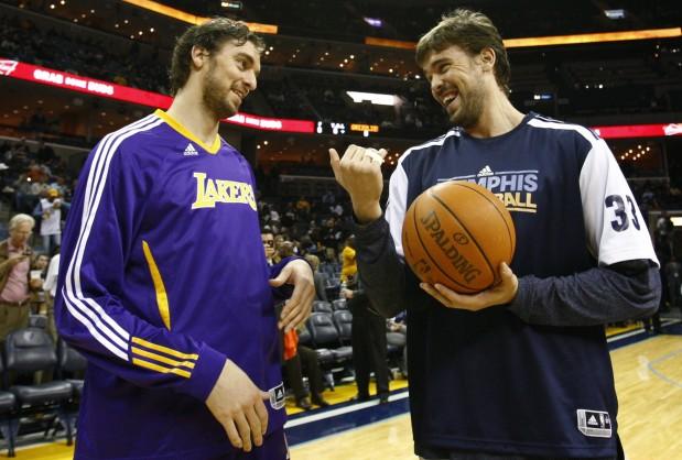 Los hermanos Gasol: realidades distintas en la NBA