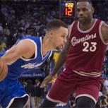 Stephen Curry humilla a Lebron James: Cavaliers desesperados caen en descontrol