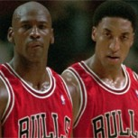 Scottie Pippen sorprendió a Michael Jordan en el partido de los Hornets
