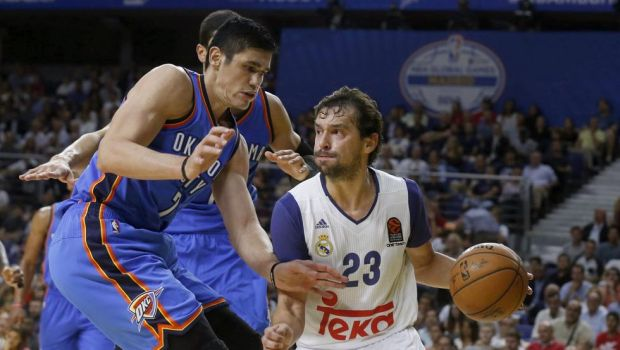 Real Madrid vence a Oklahoma City Thunder al más estilo NBA