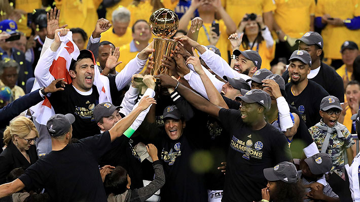 Warriors campeones NBA