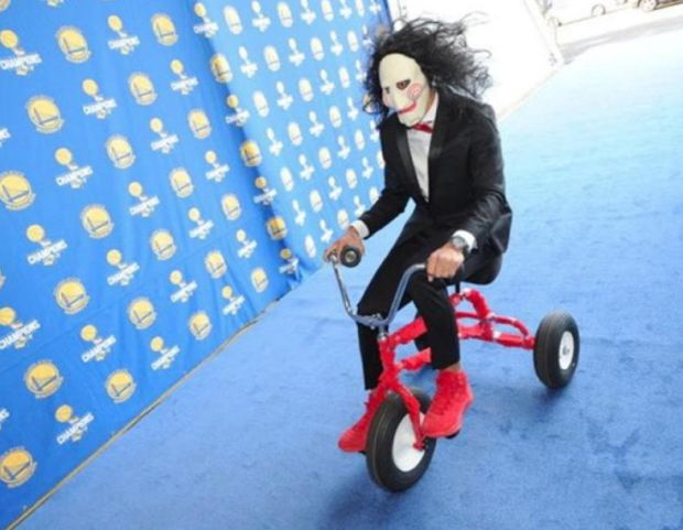 Stephen Curry como Jigsaw