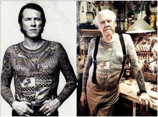 ancianos tatuajes