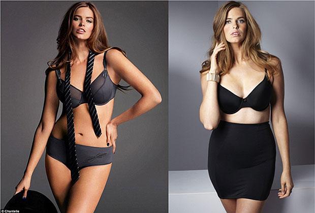 """413ebac33ada Modelos """"plus size""""? Conoce las medidas y peso de las top models con ..."""