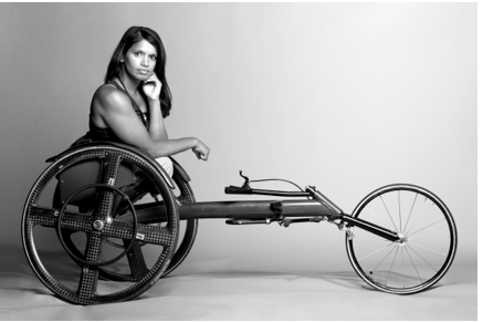 Maggie Redden, 29, Paraplegic due to Polio Photography - Rabbitt and Bond