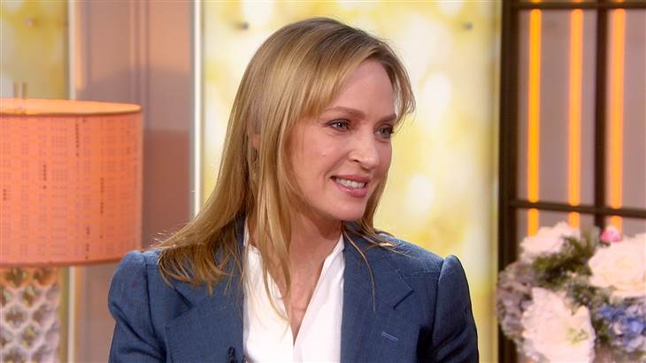 uma thurman the today show