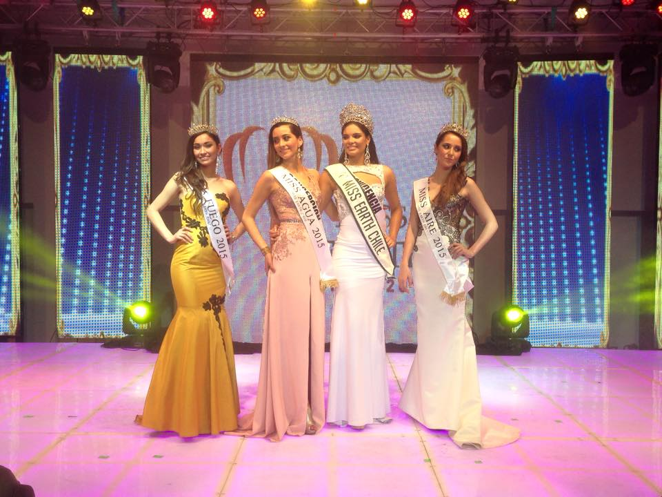 finalistas miss eartth chile 2015