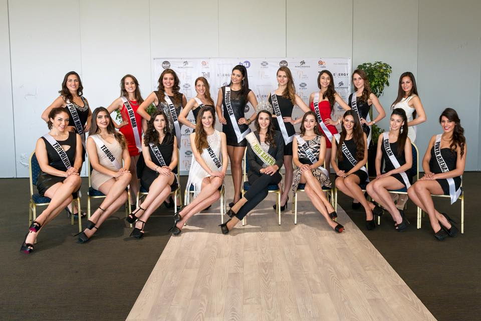 miss earth chile 2015 fotos candidatas