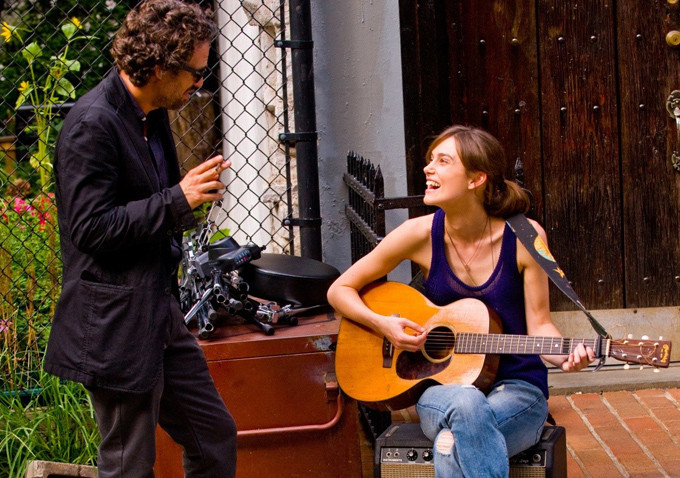 Keira Knghtley en 'Begin again' (2014)