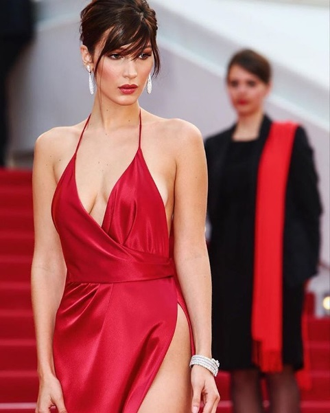 Bella Hadid en Cannes 2016 / https://www.instagram.com/bellahadid/