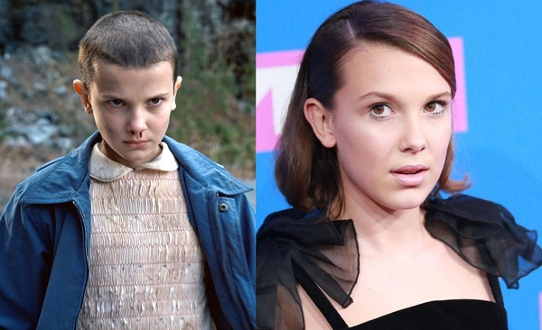 Millie-Bobby-Brown cabello eleven