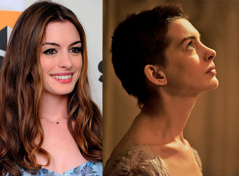 anne hathaway los miserables transformacion