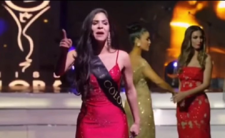miss global miss colombia denuncia fraude