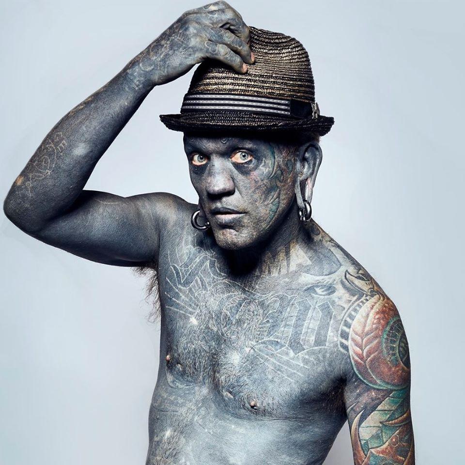 hombre mas tatuado del mundo