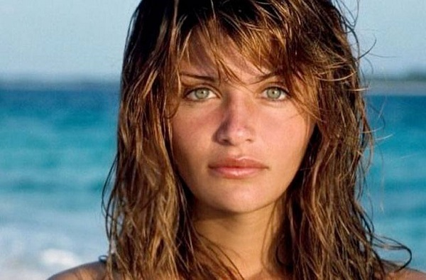 Helena Christensen antes y despues