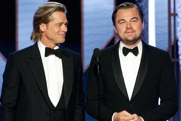 famosos de hollywood que no se bañan leonardo dicaprio brad pitt