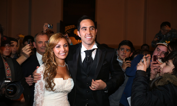 Vestidos de novia de famosas chilenas