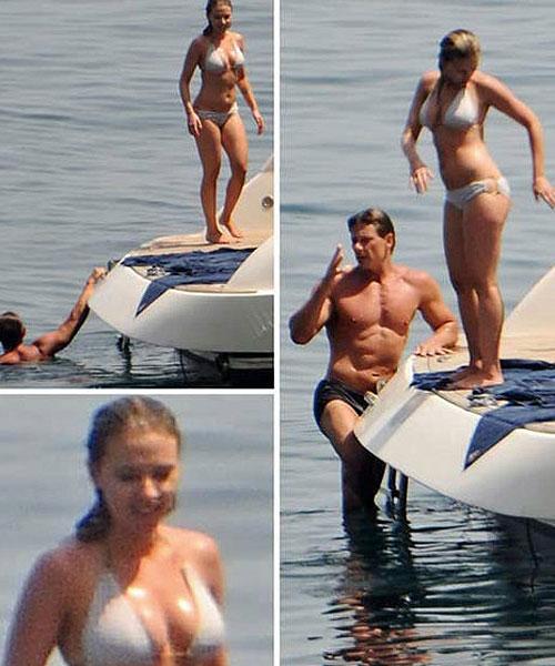 Scarlett Johansson en bikini