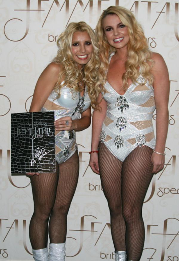 Doble oficial de Britney Spears en Chile