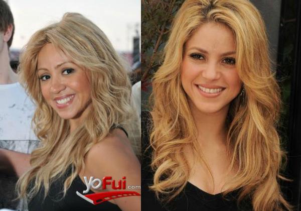 Doble oficial de Shakira en Chile