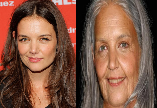 Famosos envejecen