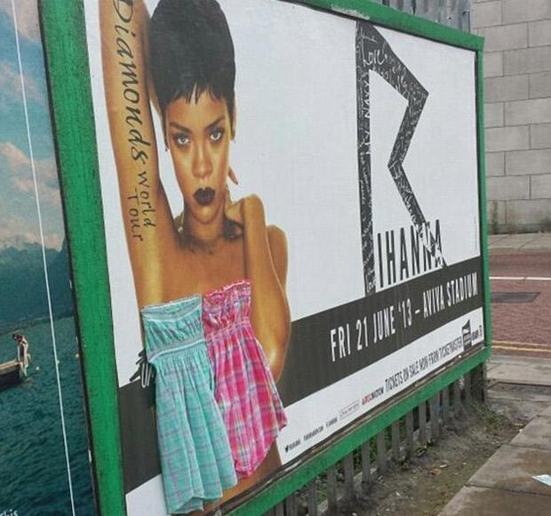 Rihanna censurada