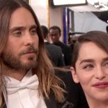 Jared Leto coquetea en cámara con Emilia Clarke de Game of Thrones