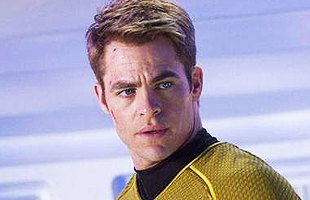 Chris Pine Capitan Kirk