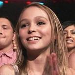 Bella hija adolescente de Johnny Depp actuará con su padre