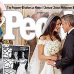 Revelan las primeras imágenes de la impresionante boda de George Clooney