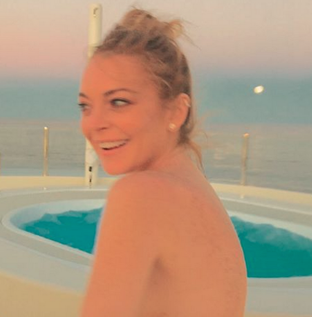 video baile sensual lindsay lohan