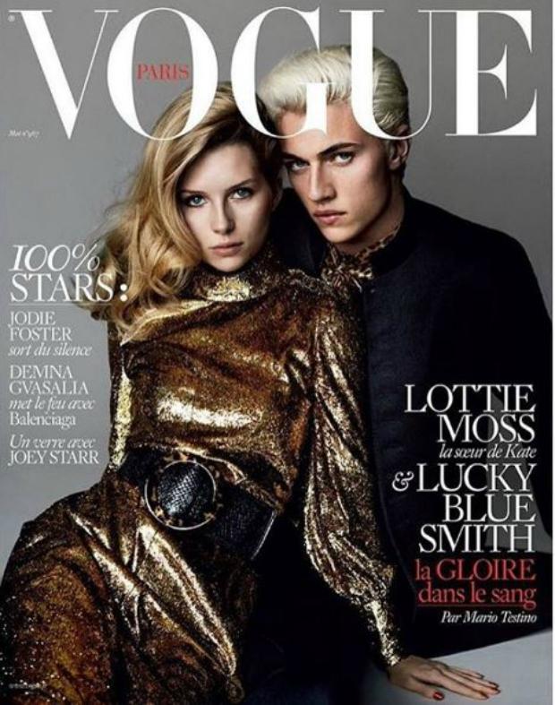 Lottie Moss, la bella hermana de 18 años de Kate que se roba las miradas en Cannes