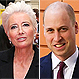 Emma Thompson quiso besar al príncipe William en medio de una ceremonia con riguroso protocolo