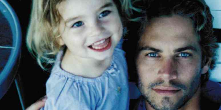 paul walker daughter