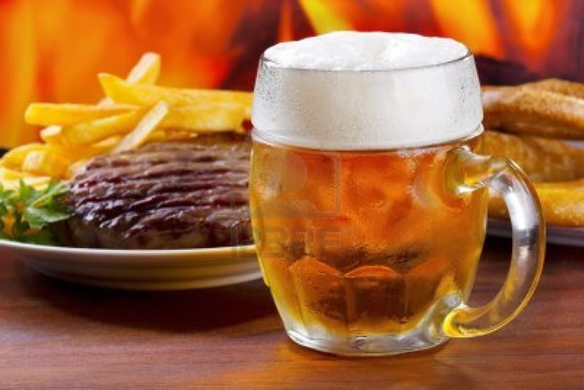 carne-cerveza