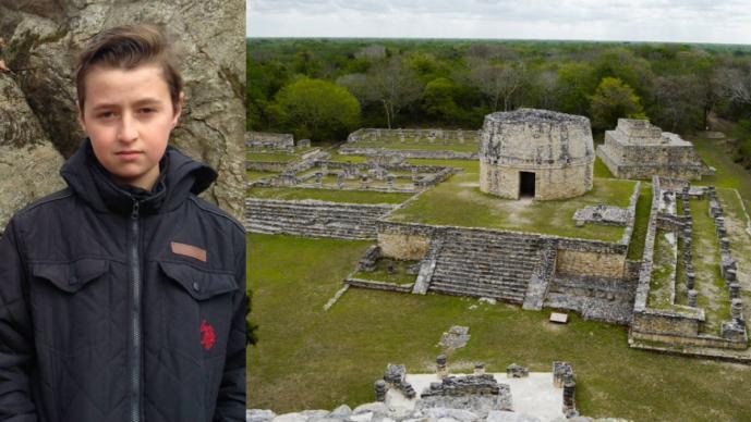 Con 15 años descubrió una ciudad maya oculta usando Google Earth