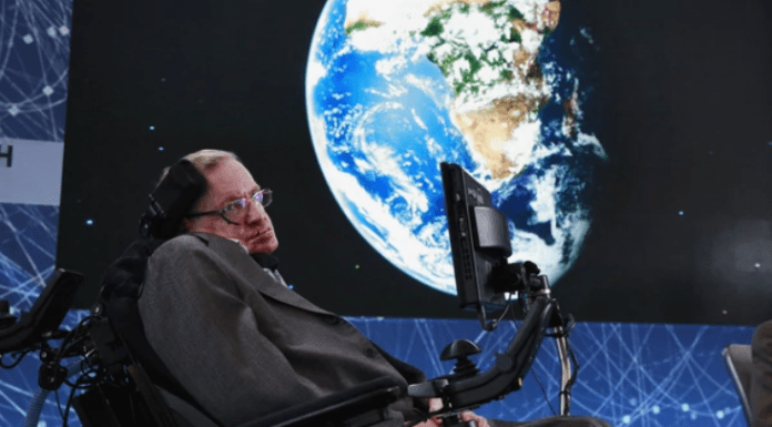 Foto: Stephen Hawking. /hch.tv