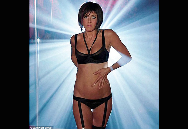 aniston striptease