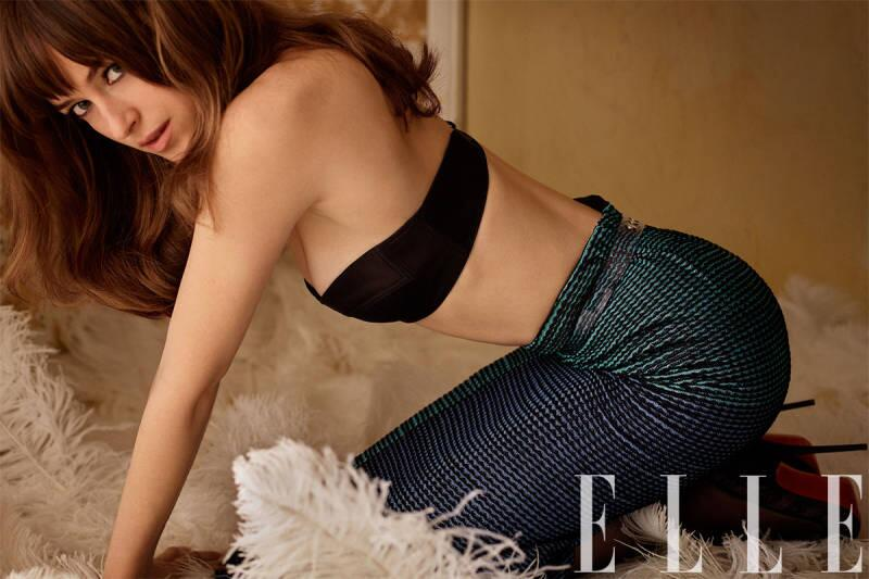 Dakota Johnson Elle