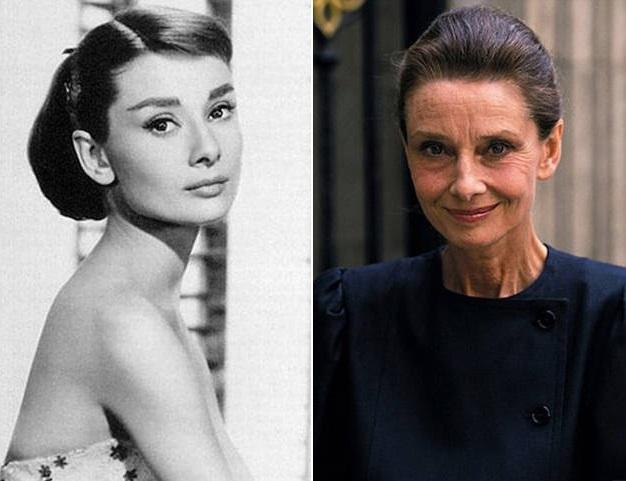 50 bellezas del cine clasico Audrey-hepburn-antes-y-despues