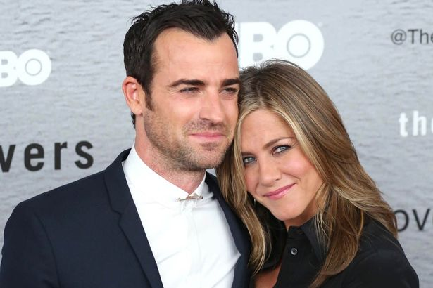 Justin Theroux y Jennifer Aniston / mirror.co.uk