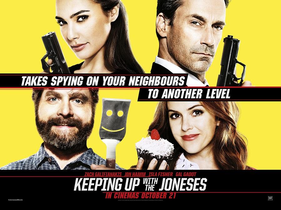 Las críticas no ayudaron a esta película con Gal Gadot, Jon Hamm, Zach Galifianakis e Isla Fisher.