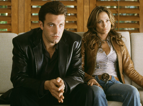 Ben Affleck y Jennifer Lopez en Gigli / City Light Films