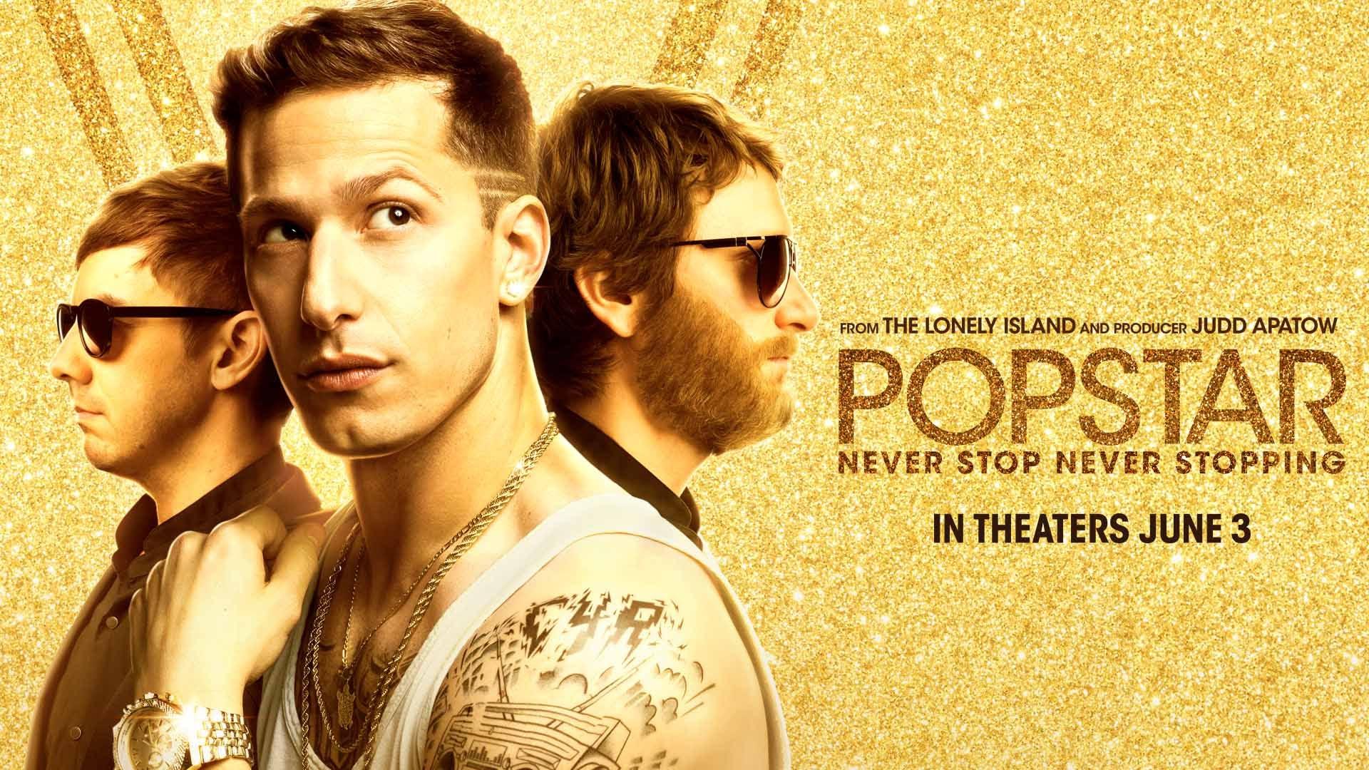 """Popstar: Never Stop Stopping"" recaudó la mitad de lo que costó."