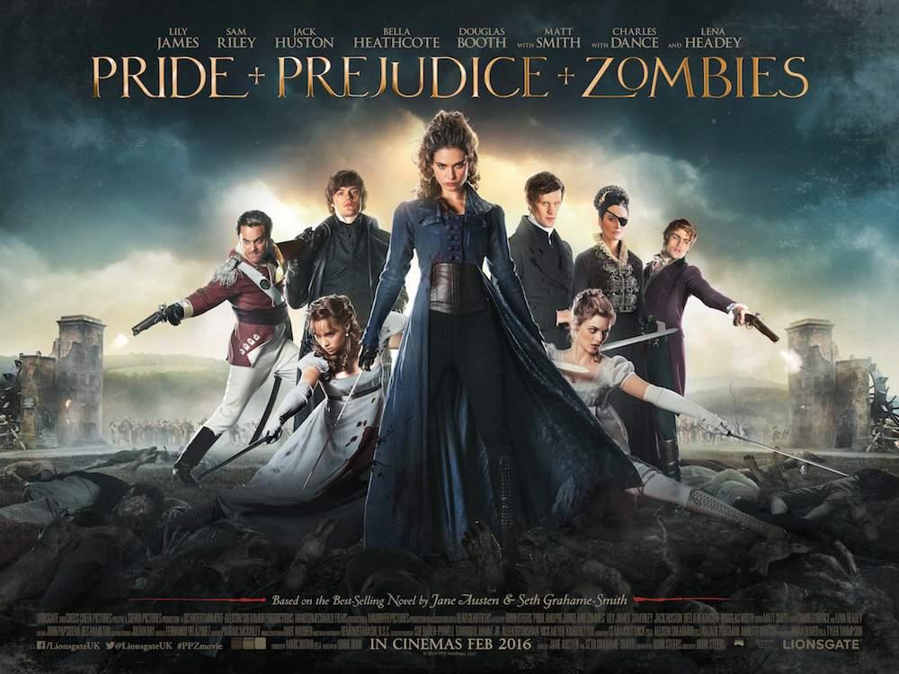 """""""Orgullo, prejuicio y zombies"""" pasó del libro al cine, pero no convenció."""