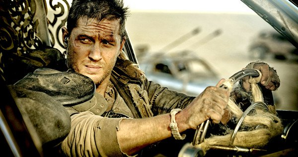 "Tom Hardy en ""Mad Max"""
