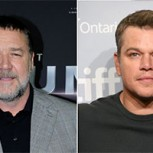 Involucran a Matt Damon y Russell Crowe en escándalo sexual que sacude Hollywood